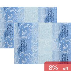 Apelt Damask 2-pack table mats