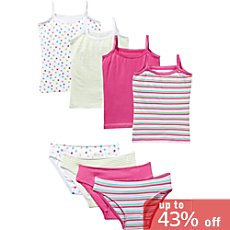Kinderbutt  8-pc underwear set