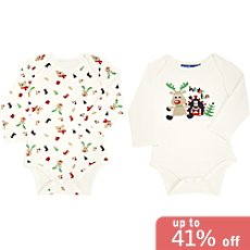 Knot so bad  2-pack bodysuits