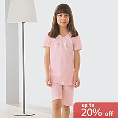 laritaM single jersey short pyjamas
