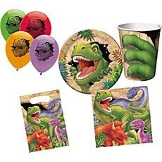 birthday party set dinosaur 46-parts