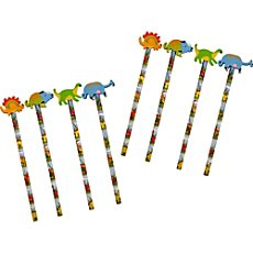 8-pack pencils dinosaur