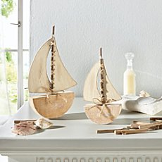2-pack decoration boats