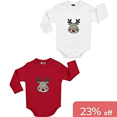 Boley  2-pack baby bodysuits