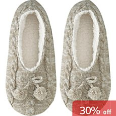 Camano  women's warm home slippers