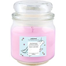 scented candle unicorn
