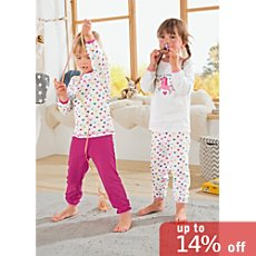 Kinderbutt single jersey sleepsuits in double pack