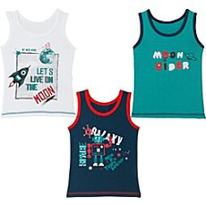 Kinderbutt  3-pk vests
