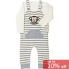 Baby Butt  dungarees set, 2-parts