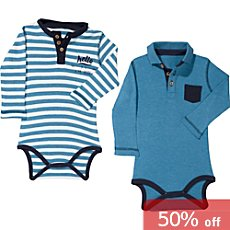 Erwin Müller  2-pack baby bodysuits