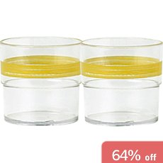 2-pack tumblers, break resistant