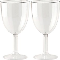 2-pack wine glasses, break resistant