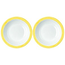 2-pack soup plate, break resistant