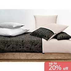 STRENESSE HOME Egyptian cotton sateen duvet cover set