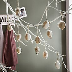 12-pack hanging decoration eggs