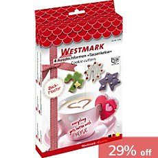 Westmark  4-piece cookie cutters