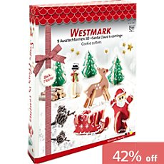 Westmark  cookie cutters, 9-parts