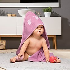 Kinderbutt  hooded bath towel incl. embroidery
