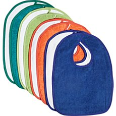 Kinderbutt  8-pack bibs