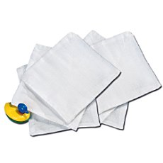 Pack of 6 Baby Butt muslin facecloths