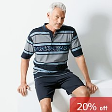 Hajo Klima Komfort single jersey short pyjamas