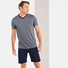 Bugatti single jersey short pyjamas