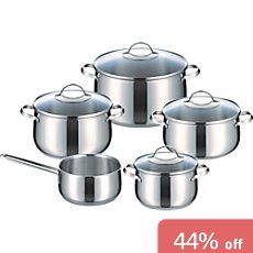 Riess  pot set, 9-parts