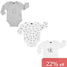 Boley  3-pack baby bodysuits