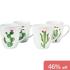 Gepolana  4-pack coffee mugs