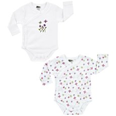 Boley  2-pack wrap bodysuits