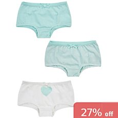 Jacky  3-pack boyshorts
