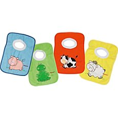 Playshoes  4-pack baby bibs