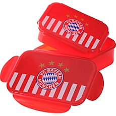 FC Bayern  2-pack lunchboxes