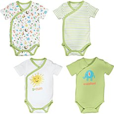 Erwin Müller  4-pack wrap bodysuits