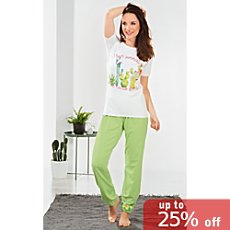 Erwin Müller cotton jersey pyjamas for women