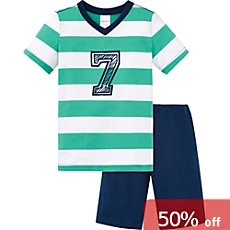 Schiesser single jersey kids short pyjamas
