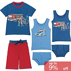 Kinderbutt single jersey underwear st, 6-parts