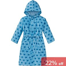 Schiesser  children's hooded bathrobe