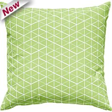 Erwin Müller  cushion cover with graphic patterns