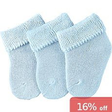 Sterntaler  3-pack newborn socks