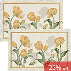 Sander  2-pack table mats