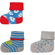Ewers  3-pack newborn socks