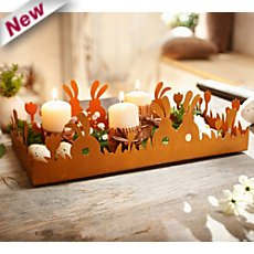 Easter decoration tray