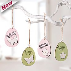 4-pk hanging decoration eggs