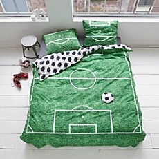 Covers & Co. Renforcé reversible duvet cover set Soccer