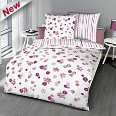 Kaeppel seersucker reversible duvet cover set