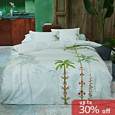 Pip percale reversible duvet cover set Indian Palms