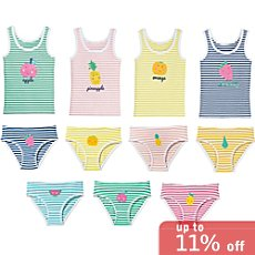 Erwin Müller  11-piece girls underwear set