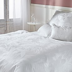 Curt Bauer Egyptian cotton brocade damask duvet cover set Cannes