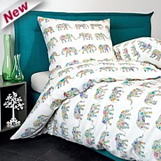 Janine soft seersucker duvet cover set